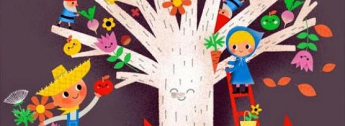 孩子风景画参考素材