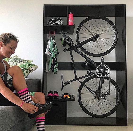 家里面如何挂自行车-方案1