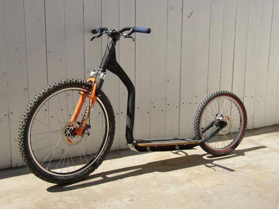 踏板自行车